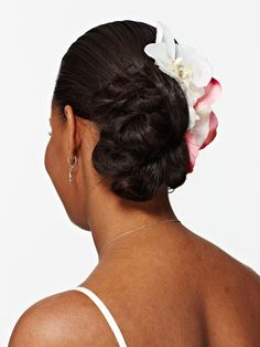 African American Updo Hairstyles | How to Do a Chignon Updo Hairstyle - Picture of Wedding Chignon - Real ...