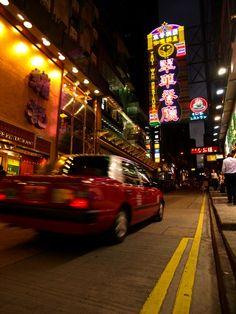On my way through the streets of Hong Kong.   #hongkong #globesessions #streetphotography #strassenfotografie #taxi #asien #neon #neonreklame #leuchtschild #bewegungsunschärfe #china #speed #schnell #raser #nightlife #nachtleben #stadtleben #stadtansicht Hongkong, Skyline, Times Square, China, Travel, City Life, Nightlife, Asia, Viajes