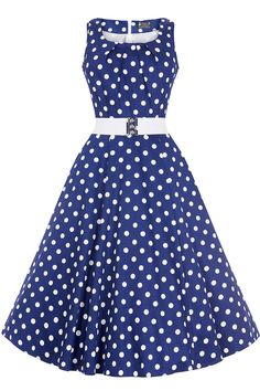 The Jasmine Dress features a 1950s style flared skirt, and has a scoop neck at the front with...