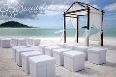 Our chocolate bamboo arbour on the stunning Whitehaven Beach, Whitsunday Island in Queensland. Like the top of the arch and the chocolate color.
