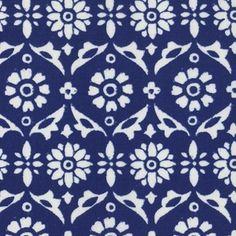 possible bow tie pattern - Dear Stella House Designer - Ravena - Flower in Navy
