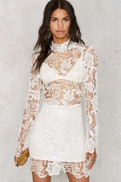 There's always a time and a lace for you.