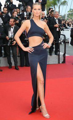 Best Dressed Stars on Cannes Red Carpet 2017 - Toni Garrn in Galvan