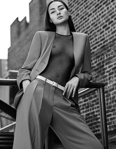 Grazia Italia October 2016 Bruna Tenorio by Xavi Gordo - Fashion Editorials