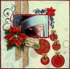 Christmas train ride #scrapbooking #inspiration