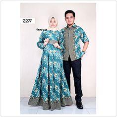 30 Model Baju Gamis Batik Untuk Orang Tua Fashion Modern