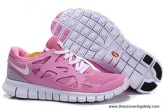 Pink White Womens Nike Free Run 2 443815-120 Outlet