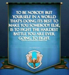 I'm starting to see why I was sorted into Ravenclaw.