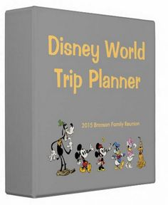 Disney World binder builder 100+ free downloads - Includes downloads for all 4 parks, dining, hotels + more