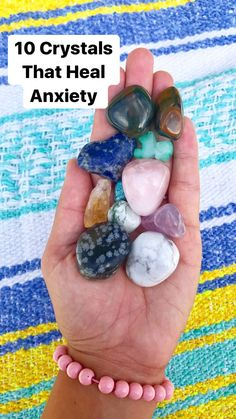 10 Crystals that Help Heal Anxiety! #health #Wellness #anxiety #heal #crystals #healing #remedies  #selfcare