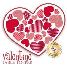 Valentine Table Topper Laser-cut Kit