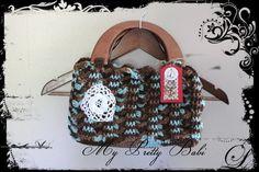 Christmas In November - 18th November to 2nd December - Crochet Tote - Crochet Basket #myprettybabi @Etsy @Meylah.com , $45.05