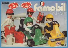 Clicks de Famobil. Nostalgia, Texaco, Dollhouse Furniture, Miniature Dolls, Childhood Memories, Minions, Objects, Retro, Cool Stuff