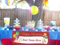 Birthday Banners by EventbyEunice on Etsy, $19.20