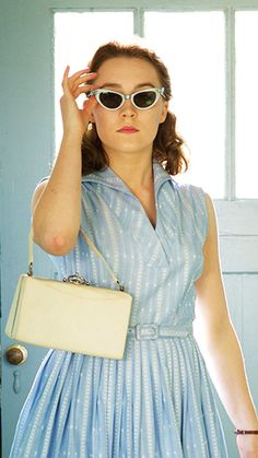Saoirse Ronan in 'Brooklyn' (2015). Costume Designer: Odile Dicks-Mireaux