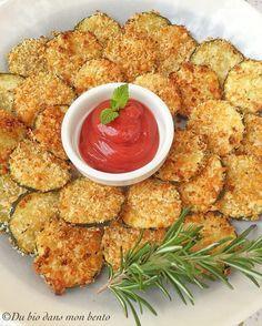 Chips de courgettes sans fritures