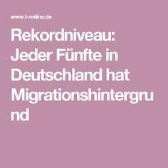 Rekordniveau: Jeder Fünfte in Deutschland hat Migrationshintergrund