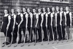 Field Hockey - November 1941      this is so beyond cool