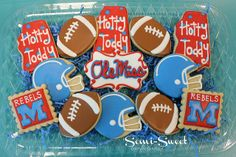 Ole Miss Cookies   Flickr - Photo Sharing!
