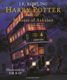 Jim Kay's Prisoner of Azkaban illustrations revealed - J.K. Rowling