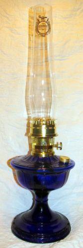 Aladdin Cobalt Blue Alexandria Oil Lamp Alladin | eBay