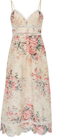 2c655353c080a8 Zimmermann Laelia Midi Diamond Bralette Dress