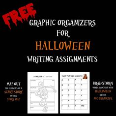22 Writing Ideas about Halloween