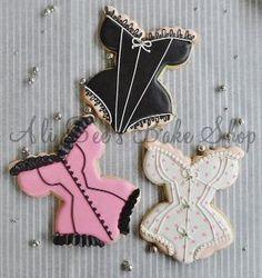 lingerie cookies for bridal shower! cute!! by sheelu.sunil.7
