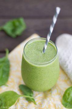 spinach apple protein smoothie