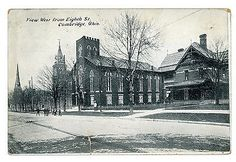 View from West Eighth Street, 1908