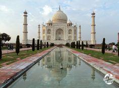 El Taj Mahal, el monumento que más me ha gustado... de momento http://que-bonito-es-viajar.blogspot.com.es/2015/01/taj-mahal.html