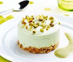Comment cuisiner la crème Mont Blanc ? Découvrez la recette du cheesecake pistache à la crème Mont Blanc