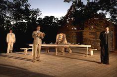 Teatro De Verão no porque, em Tallinn, na Estônia