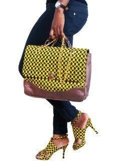 80f5841fa64 Check Out This Creative Ankara Shoes and Bag Design