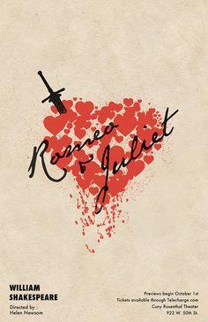 Romeo & Juliet Poster Series on Behance
