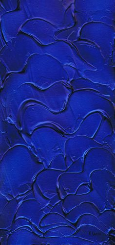 """Blue velvet.""  by Kenneth Clarke  http://www.artflakes.com/en/products/blue-velvet-12"