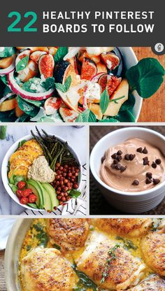 22 Healthiest Pinterest Boards to Follow #healthy #recipes