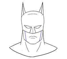 How To Draw Batman For Kids How To Draw Pinterest Batman