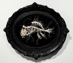 Caitlin McCormack's Delicate Crocheted Animal Skeletons | Hi-Fructose Magazine