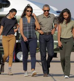 """THE OBAMA'S!!!"" BEAUTIFUL, BEAUTIFUL FAMILY!!!"
