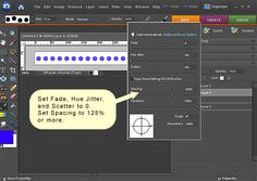 Photoshop Elements : Straight Lines, Dotted Lines and Borders