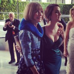 2013 CFDA Fashion Awards: Anna Wintour and Bee Shaffer at #AliceTullyHall - #LincolnCenter on June 3, 2013. See who else has been spotted here at http://celebhotspots.com/hotspot/?hotspotid=5618&next=1