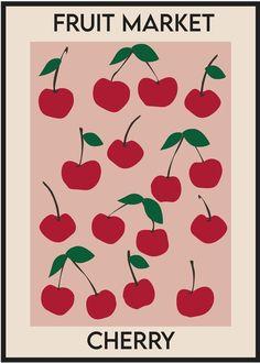 fruit market cherry