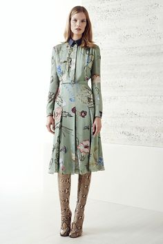 Gucci, pre-spring/summer 2015 fashion collection