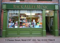 Old Storefront | Art Gallery/Antique/Used Book store that holds regular events and ...