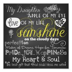 @Lexi Lee Duarte-Massey Blose                                                  My Daughter Love and Inspiration Poster