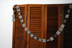 paper square garland