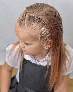 Very Short Haircuts Little Girl Braids, Girls Braids, Little Girl Hairstyles, Braided Hairstyles, Cool Hairstyles, French Braid Styles, Very Short Haircuts, Toddler Hair, Short Hair Cuts For Women