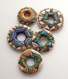 five donut beads   Selena Wells   Flickr
