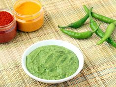 Spicy Green Chilli Chutney 10 Green Chillies, seeded and chopped 2 teaspoons Chana Dal (Gram Lentils) 1/2 teaspoon finely chopped Ginger 3-4 Curry Leaves 1 tablespoon grated Dry Coconut 1/2 cup chopped Coriander Leaves 1 teaspoon Sugar or Jaggery 1 teaspoon Lemon Juice 1 tablespoon Cooking Oil 2 tablespoons Water Salt